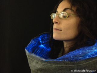 Halley Fiber optics scarf