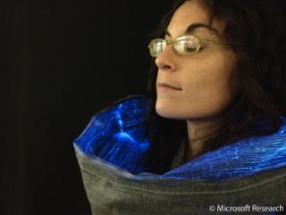 Halley Fiber optics scarf