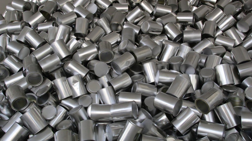 Aluminum, albeit in much smaller pieces, is often put in antiperspirants to clog your pores so you don't sweat as much.